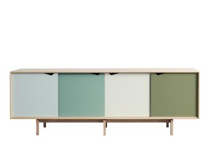 Scandinavian  sideboard S1 oak.