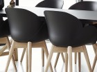 Scandinavian Shell chair, model Deluxe