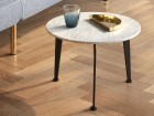 Coffee table Ø 45 cm model Ballerup Marble