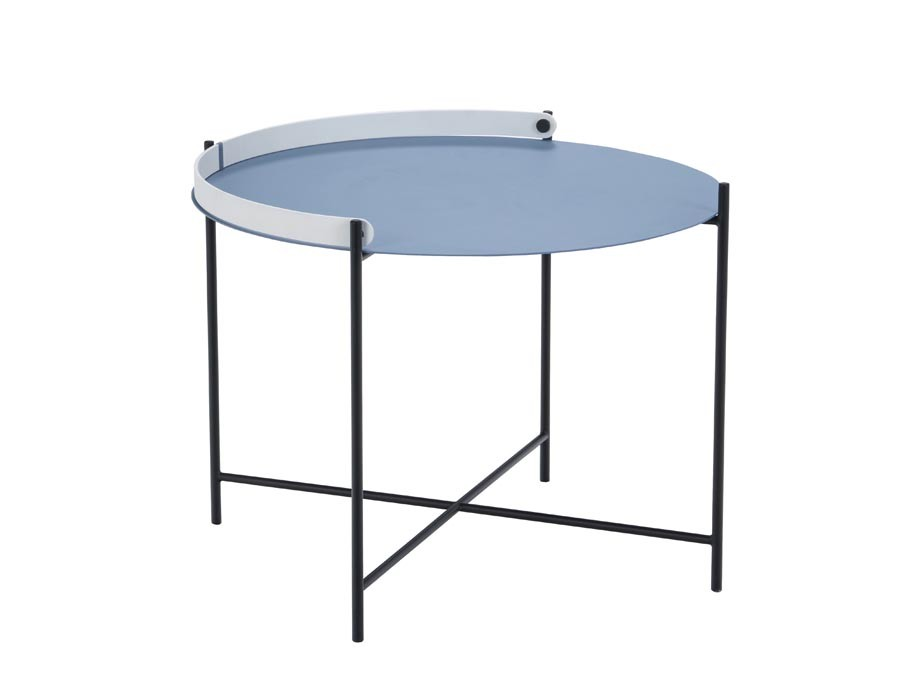 Cool Edge Outdoor Tray Table O 62 Cm Galerie Mobler Gmtry Best Dining Table And Chair Ideas Images Gmtryco