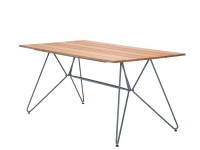 Sketch outdoor dining table, 160 cm. 4-6 seats
