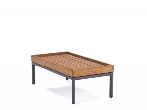 LEVEL rectangular outdoor lounge Table.