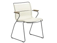 CLICK outdoor dinning chair with arm rest