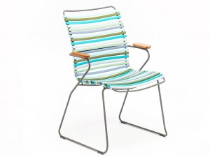 CLICK  outdoor dinning chair tall back