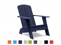 Outdoor Adirondack Curve lounge chair