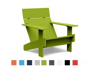 Outdoor Adirondack Lollygagger lounge chair