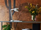 PC double  arm lamp with table base