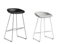 About A Stool AAS 39 Bar Stool  64 cm or 75 cm upholstered
