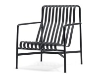 Palissade outdoor lounge chair high