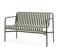Palissade outdoor dining bench
