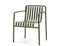 Palissade outdoor dining arm chair