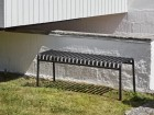 Palissade outdoor  bench