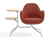Wilmer Conference chair O58CT with tablets.