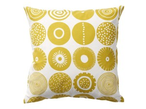 Candy cushion cover, 45 x 45 cm. 100% cotton