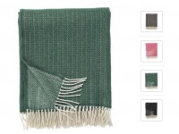 Pin Stripe throw, 130 x 200cm. Merino & Cashemire wool
