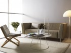 Breeze coffee table with flat top Ø 80 cm