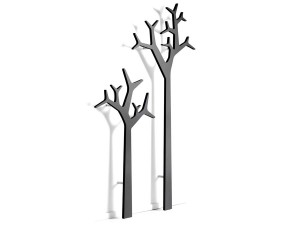 Tree wall 194 cm wall mounted coat stand