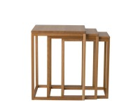 Set of 3 Trio nesting tables