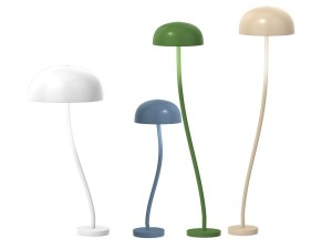 Curve  Metal Table lamp.  6 sizes