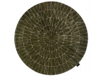 Round hand tufted Web rug. 4 colors. 2 sizes