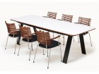 Chess dining  table GM 3400 Corian